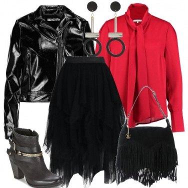 Outfit Il giubbotto biker