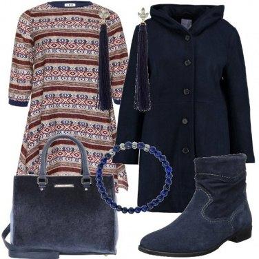 Outfit Un abito in stile folk