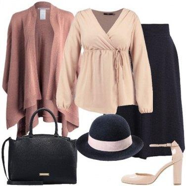 Outfit Il cappello blu