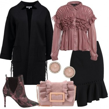 Outfit Un cardigan elegante
