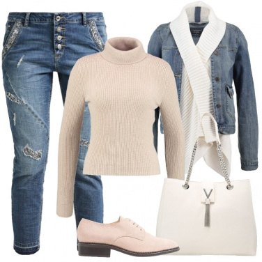 Outfit Stringate rosa