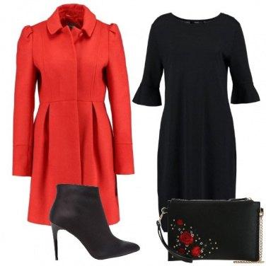 Outfit Rosso un amore che non posso
