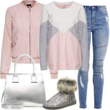 Outfit Comoda e brillante