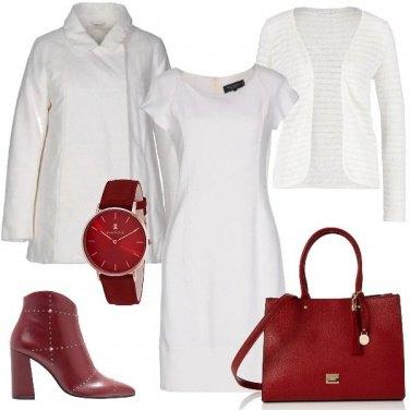 Outfit Bianco d\'ufficio