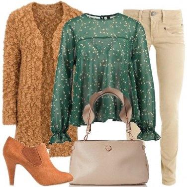 Outfit Blusa romantica