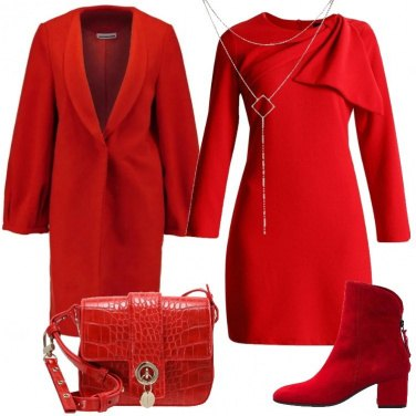 Outfit Tutto rosso