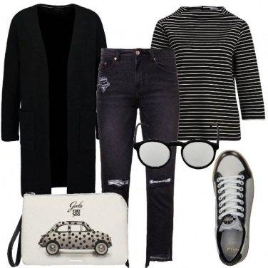 Outfit Maxi cardigan per il giorno