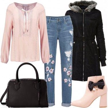 Outfit Rosa pallido