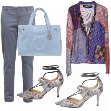 Outfit Azzurro serenity