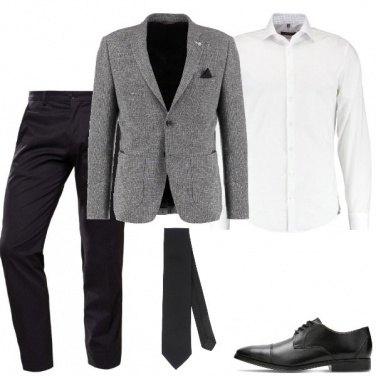 Outfit Il completo con la stringata
