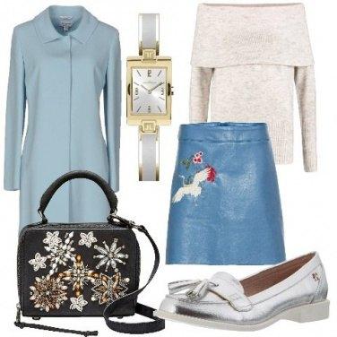 Outfit Soprabito con collo classico