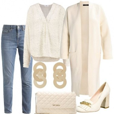 Outfit Il cardigan lungo