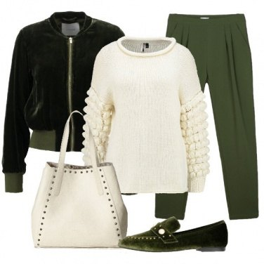 Outfit Adoro il verde