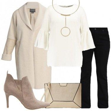 Outfit Il cappotto avorio