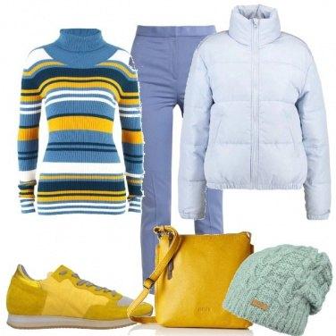 Outfit Piccoli tocchi di giallo