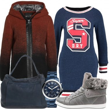Outfit Super girl