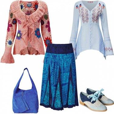 Abbigliamento donna saldi 60s70sricamato giletfrangia hippie