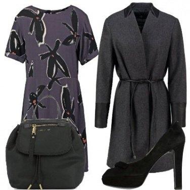 Outfit Borsa morbida e tacchi