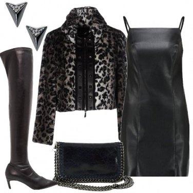Outfit Fantasia leopardata