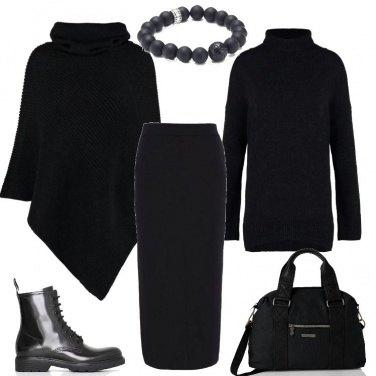 Outfit La signora in nero