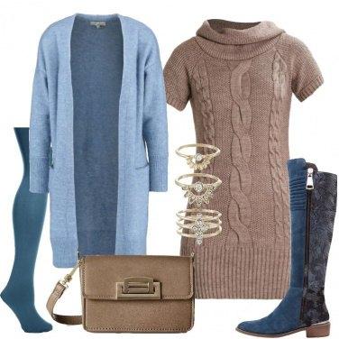 Outfit Mini abito in maglia