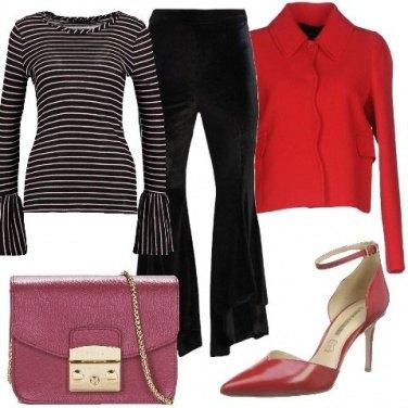 Outfit Contrasto di colori