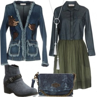 Outfit Total look in denim