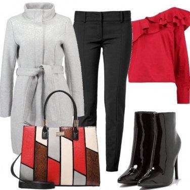 Outfit Spalla scoperta