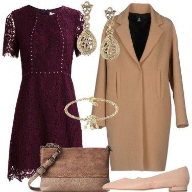 Outfit Scarpe basse e vestito corto