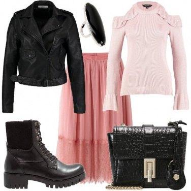 Outfit Rock e romantica
