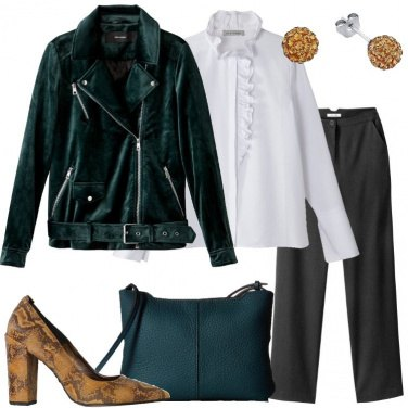 Outfit Vivacità al classico