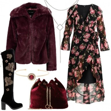 Outfit Abito lungo e cuissard