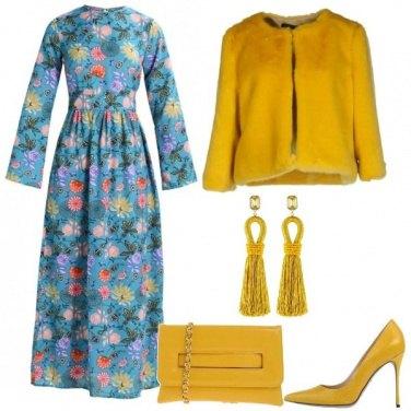 Outfit Dettagli color ocra