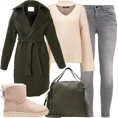 Outfit Ugg con fiocco