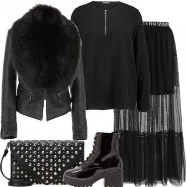 Outfit Rock selvaggio