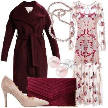 Outfit L\'abito ricamato