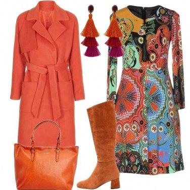 Outfit Arancio mandala