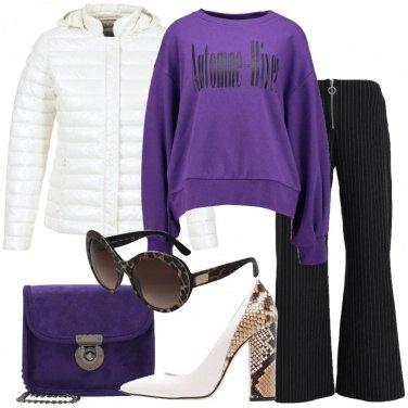 Outfit La felpa Ultra Violet