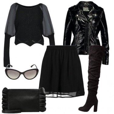 Outfit La gonna nera