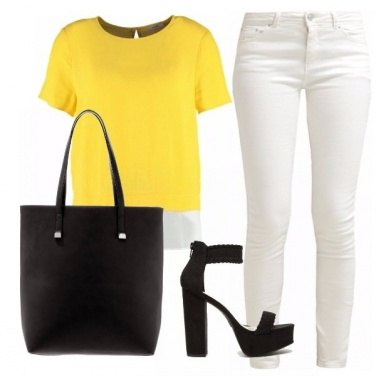 Outfit Yellow&black