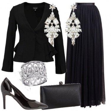 Outfit Michelle Pfeiffer al Golden Globe
