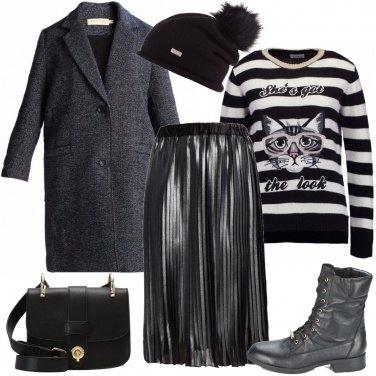 Outfit Il cappotto antracite