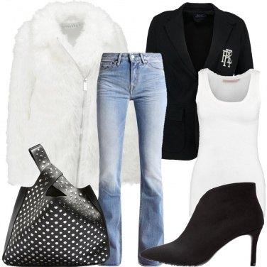 Outfit Il blazer marchiato