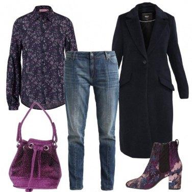Outfit Solo il cappotto è minimale