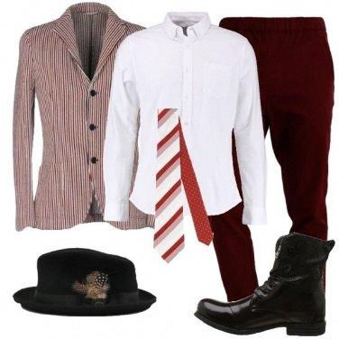 Outfit Due cravatte in una