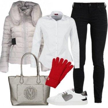 Outfit Comoda e griffata