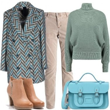 Outfit La cartella azzurra