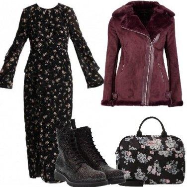 Outfit Fiori e anfibi
