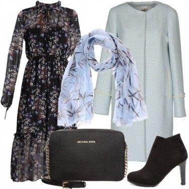 Outfit L\'abito lungo a fiori