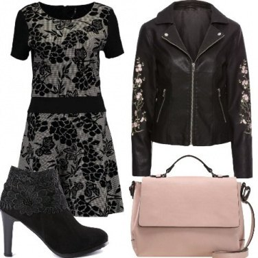 Outfit Floral rock
